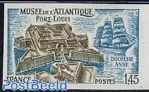 Port Louis 1v imperforated