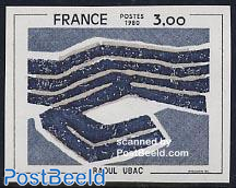 Ubac painting 1v imperforated