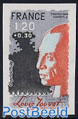 Louis Jouvet 1v imperforated