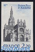 St. Anne dAuray 1v imperforated
