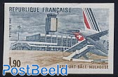 Bale-Mulhouse airport 1v imperforated