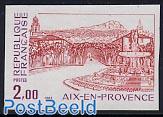 Aix en Provence 1v imperforated