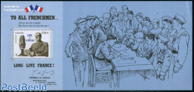 18 June 1840, Souvenir sheet