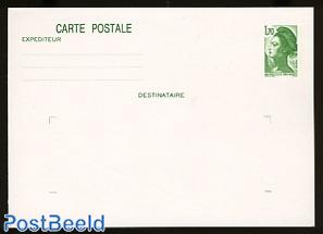 Postcard 1.70 green
