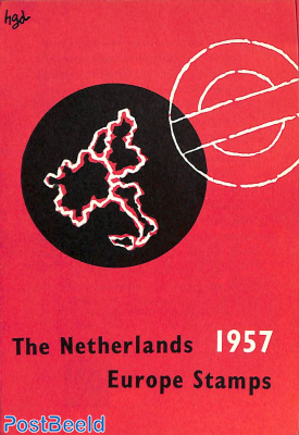 Original Dutch promotional folder from 1957, Europa, English language