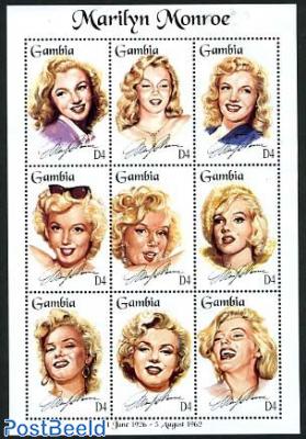 Marilyn Monroe 9v m/s