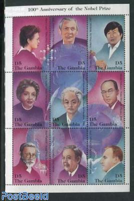 Nobel prize winners 9v m/s