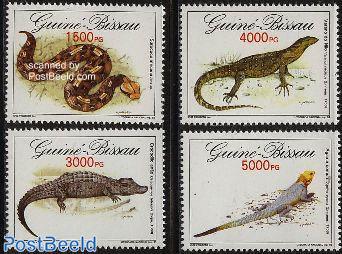 Reptiles 4v