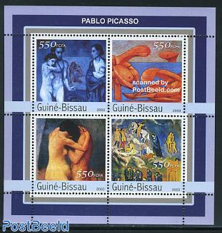 Pablo Picasso 4v m/s