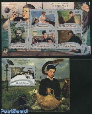 Edouard Manet 2 s/s