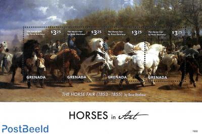 Horses in art 4v m/s