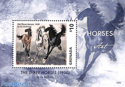 Horses in art s/s