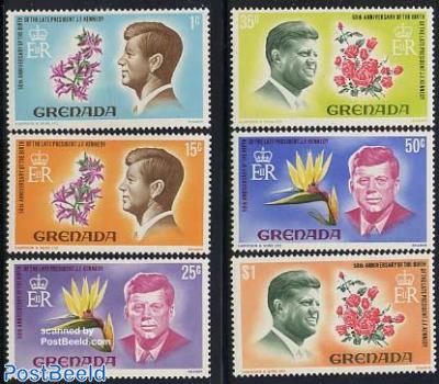 J.F. Kennedy 6v