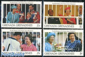 Elizabeth II 65th birthday 4v
