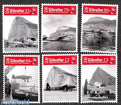 100 years RAF 6v