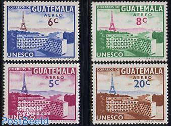UNESCO 4v