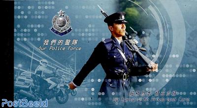 Police in prestige booklet