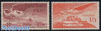 Airmail stamps 2v