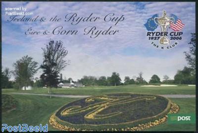 Ryder Cup prestige booklet