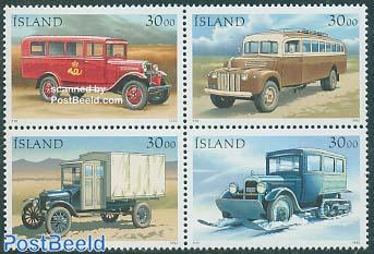 Postal cars 4v [+]