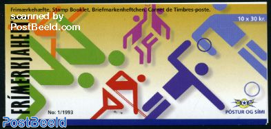 Sports booklet