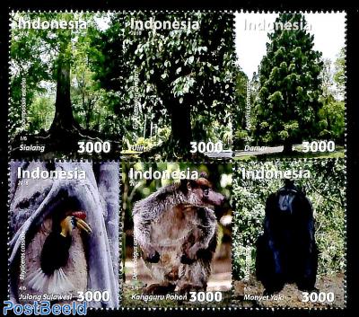Flora and fauna 6v [++]
