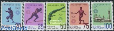 Olympic games Munich 5v