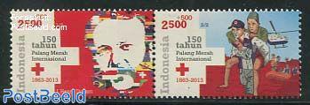 150 Years Red Cross 2v [:]