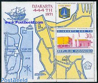 Jakarta 444th anniversary s/s