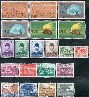 Irian Barat definitives 20v