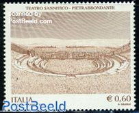 Sannitico Theatre, Pietrabbondante 1v