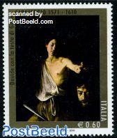 Caravaggio 400th Anniversary of his death 1v