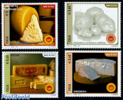 Made in Italy, cheese 4v