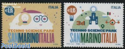Techno Science Park 2v, Joint Issue San Marino