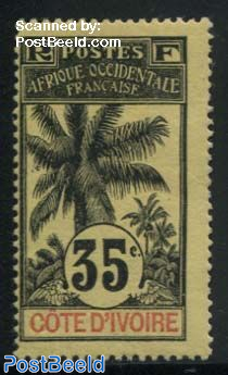 35c., Stamp out of set