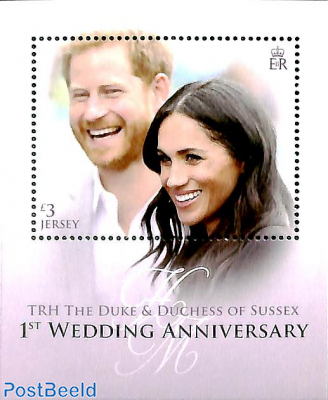 Prince Harry and Meghan Markle wedding anniversary s/s