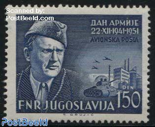 Partizan war 1v airmail