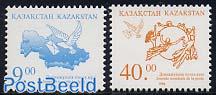 World postal day 2v