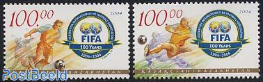 FIFA centenary 2v