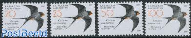 Definitives, birds 4v