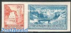Postal museum 2v (from s/s)