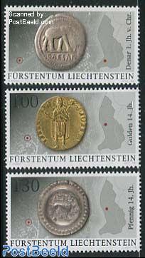 Archeology, coins 3v