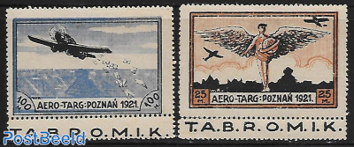 airmail stamps with tabs