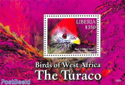 Birds of West Africa s/s, The Turaco