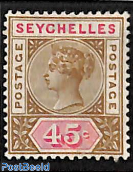 45c, Stamp out of set