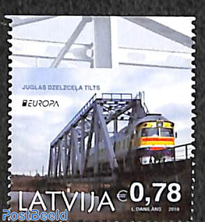 Europa 1v from booklet