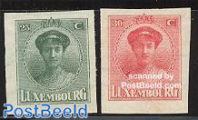 Philatelic exposition 2v imperforated