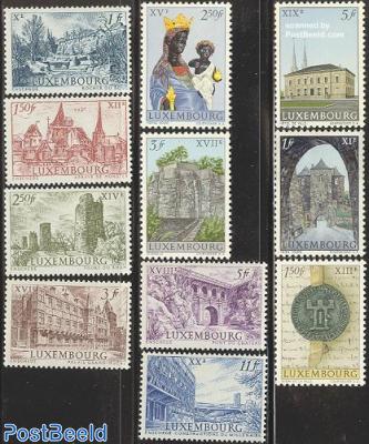 Luxemburg millennium 11v