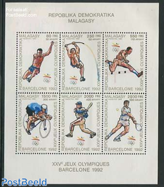 Olympic Games 6v m/s