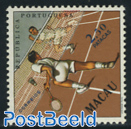 2.50P, Badminton, Stamp out of set